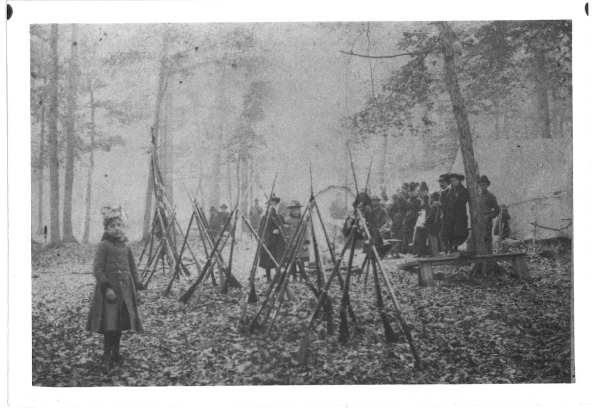 GAR encampment near Morristown, NY