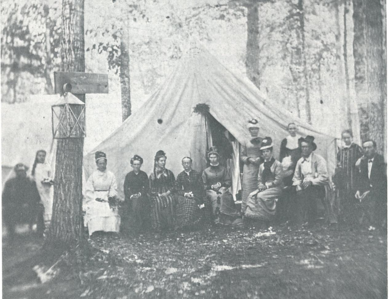 Platform Tent, near Morristown, NY