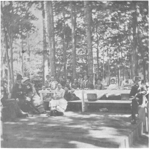 International Camp Ground near Morristown, NY