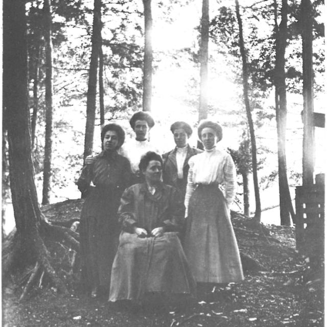 Methodist Camp Meeting near Morristown, NY   SLCHA collection