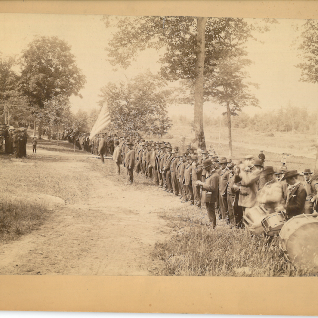 GAR encampment at Terrace Park near Morristown, NY