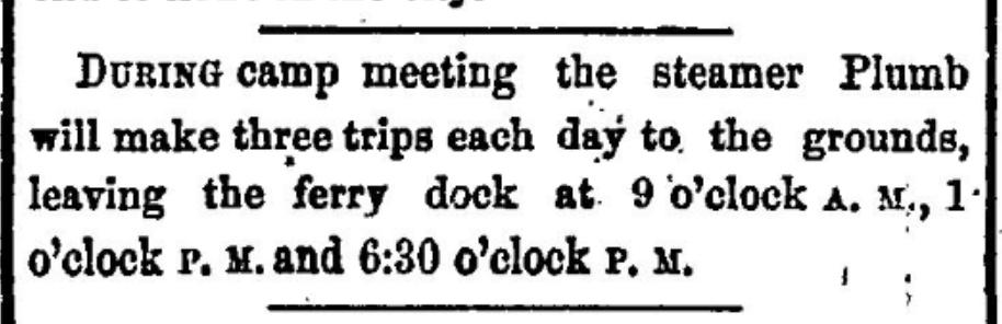 International Camp Meeting 1875