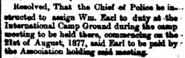 St. Lawrence river methodist camp 1877