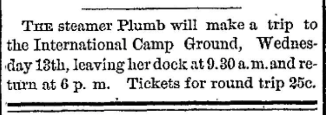 methodist camp ground